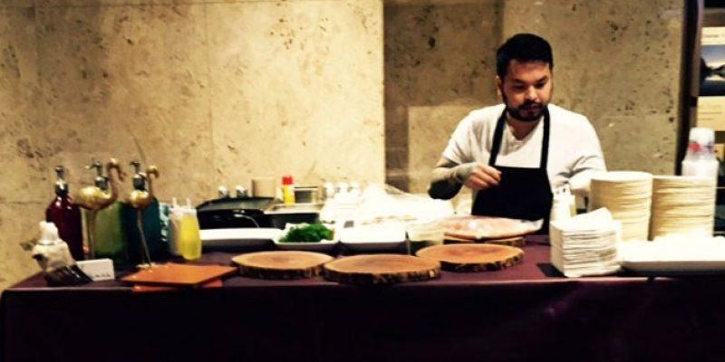 Toronto Chef Kanida Chey preparing authentic Argentinian cuisine