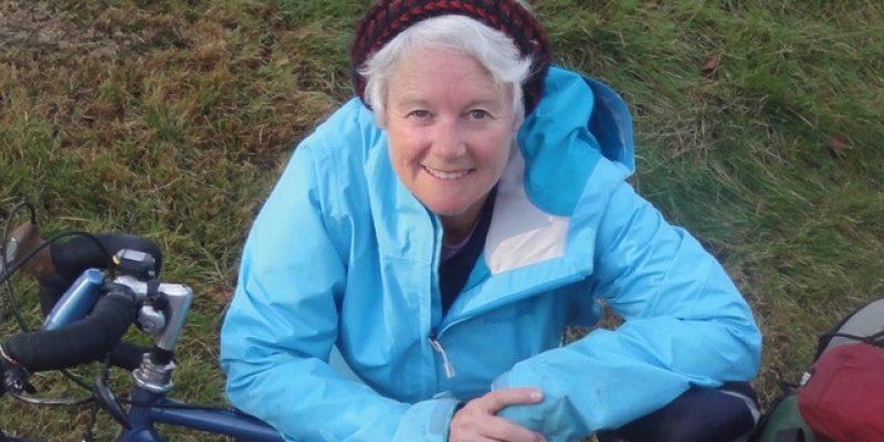 Marianne Rudd with bike spirituality and cycling