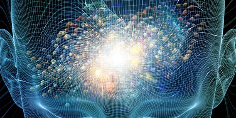 Illustration of brain waves