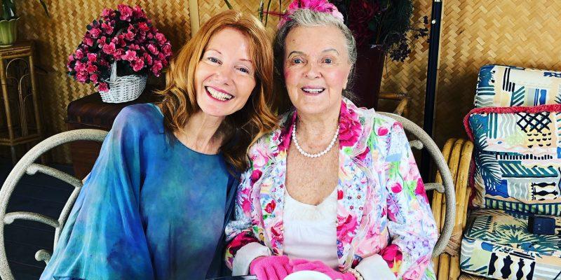 Patricia Bragg and Julia Loggins