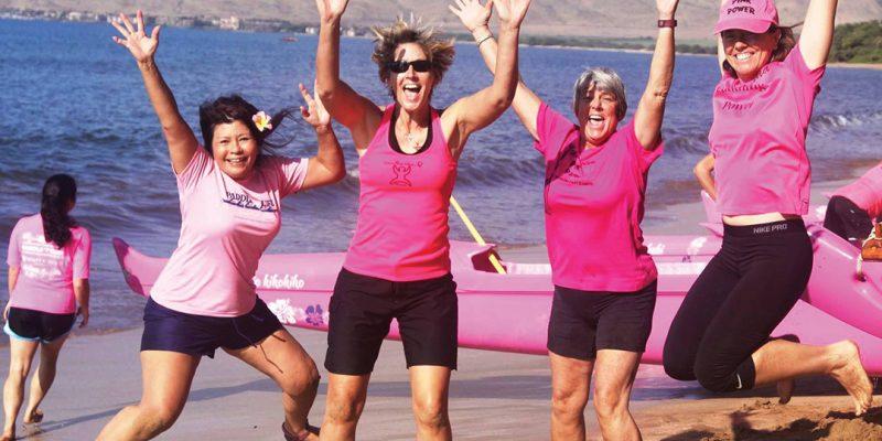 Mana'olana Pink Paddlers