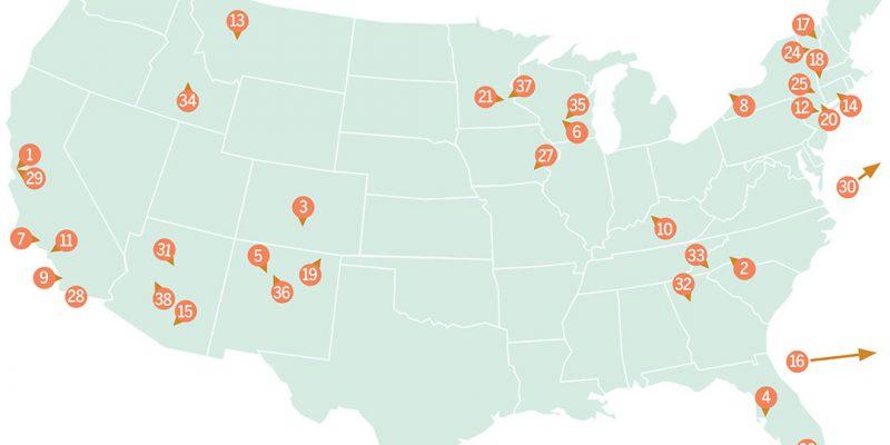 Retreat Guide 2019 Map
