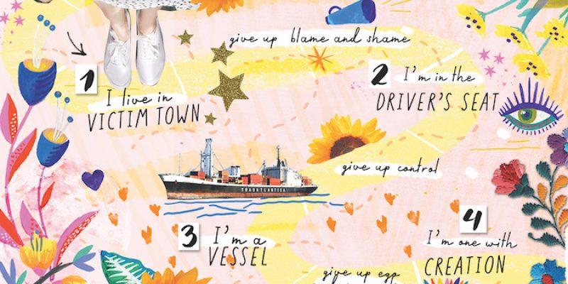 Illustration of Roadmap to Creativity