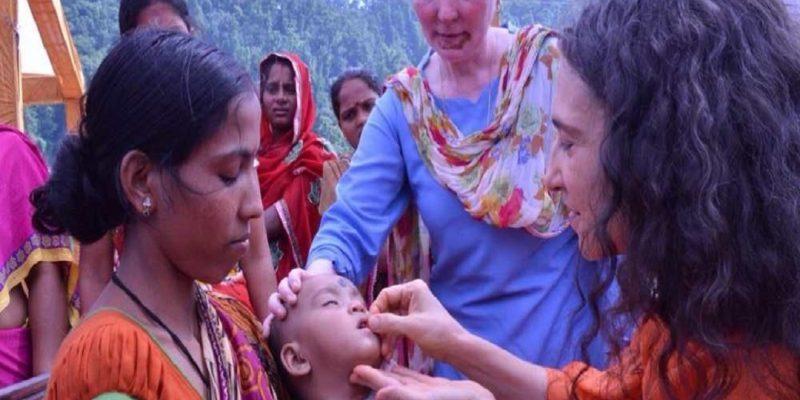 Sadhvi Bhagawati Saraswatiji working in India