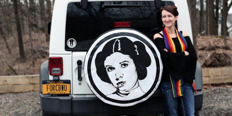 Star Wars fan feels the force