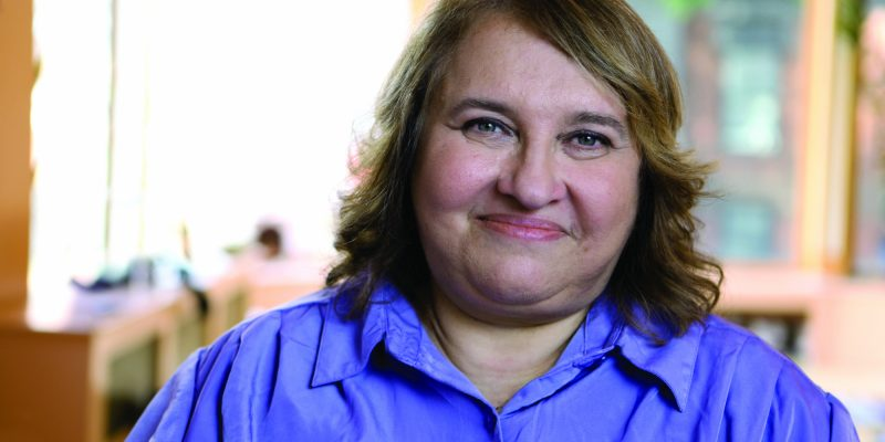 Meditation teach Sharon Salzberg