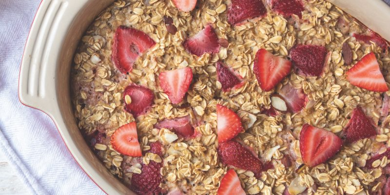 Strawberry Breakfast Bake
