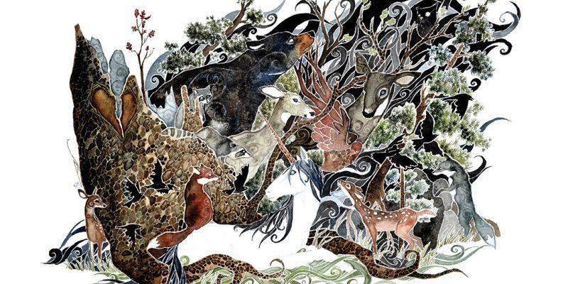 illustration of animals