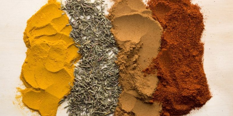 Four bulk spices