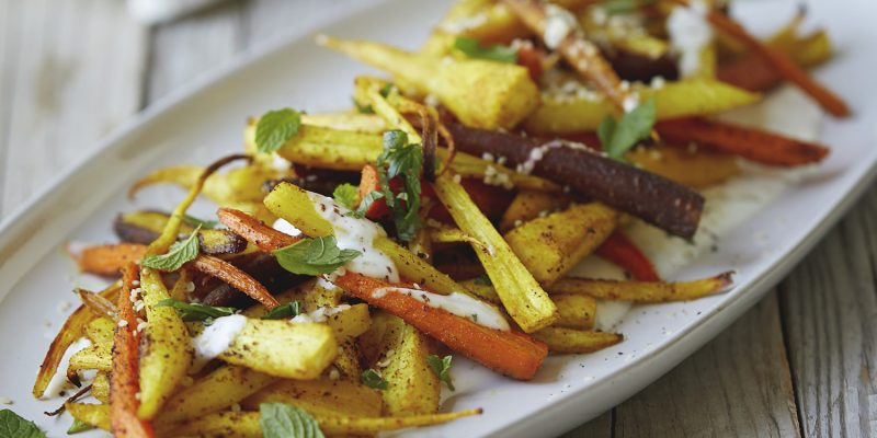 Turmeric Roasted Root Vegetables