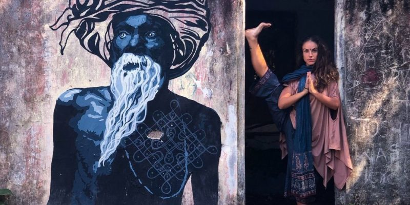 Adi Shakti expressive illustration