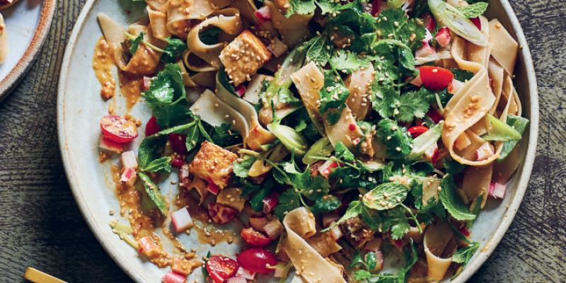 Vibrant Malay Salad