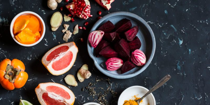 beets and ginger