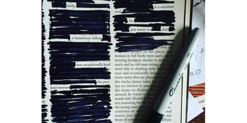 <em>Edit Article</em> Blackout Poetry: Creation Through Reduction