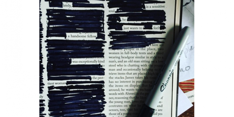 <em>Edit Article</em> Blackout Poetry: Creation Through Reduction