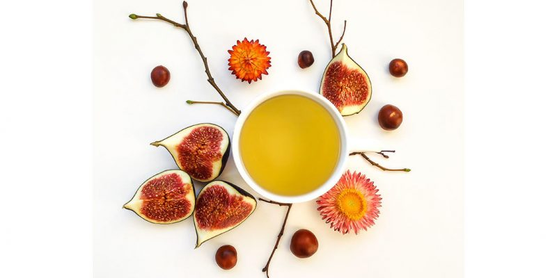 fall figs and tea