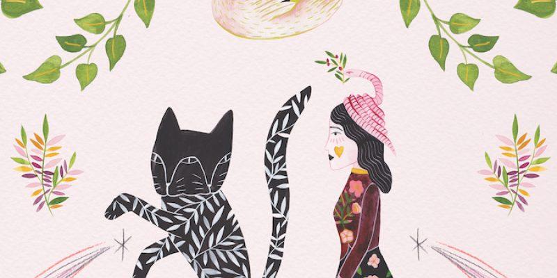 Estée Preda's painting Follow Me