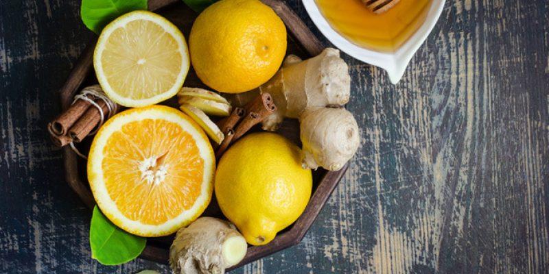 lemon ginger honey