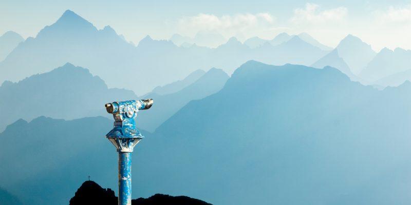 mountain binoculars the power of intention
