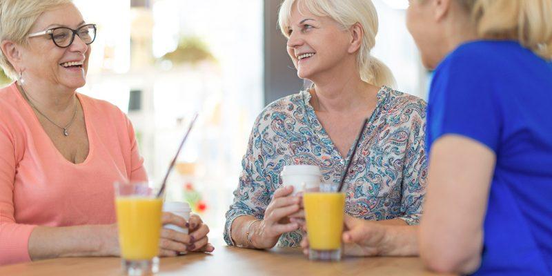 Women having breakfast