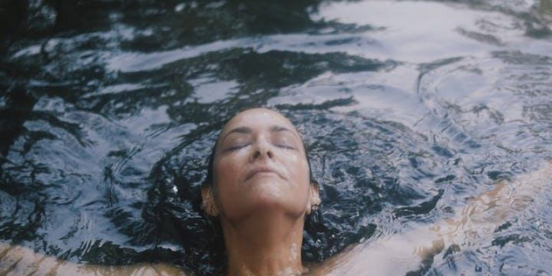 woman skinny dipping experience