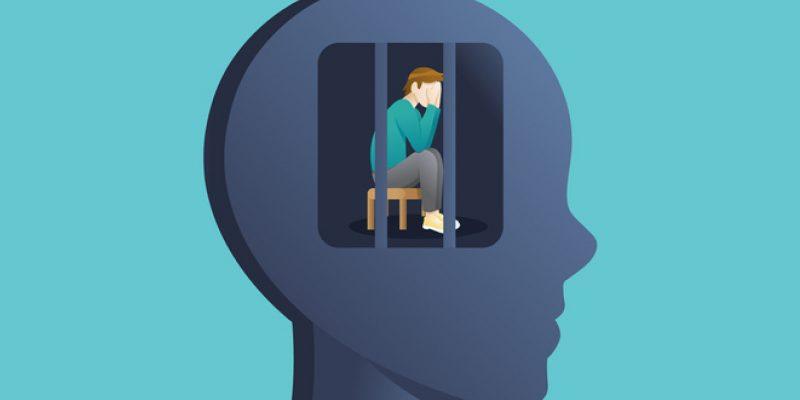 Illustration of static idea of illness