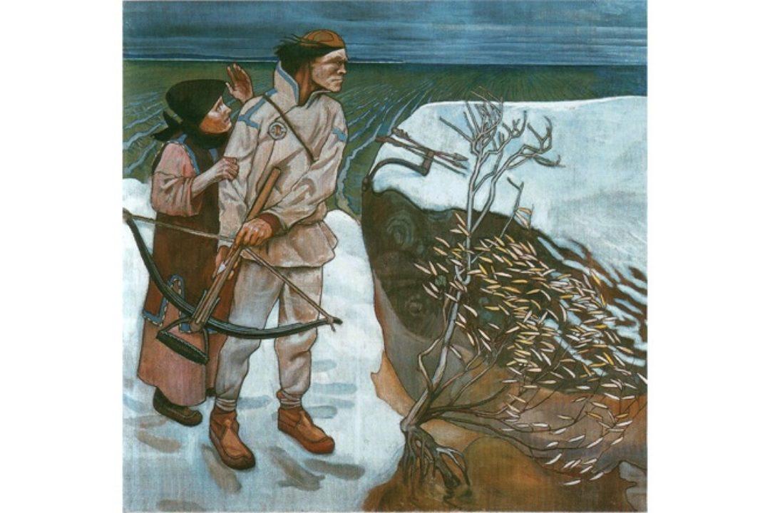 Joukahainen's revenge by Akseli Gallen-Kallela