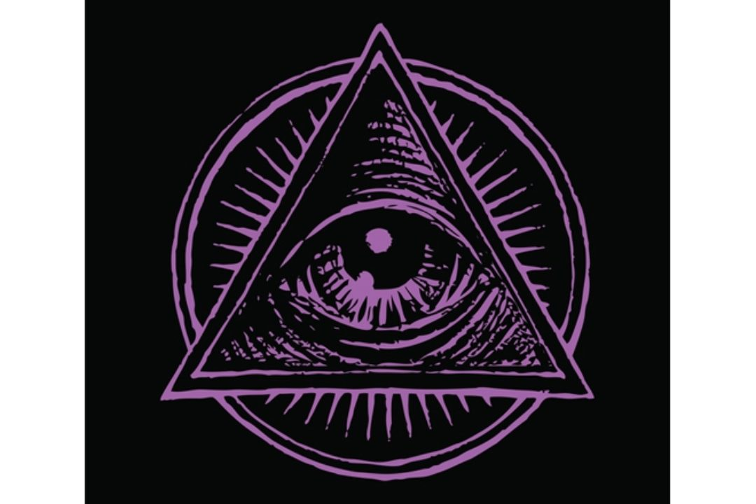 Illustration of all seeing eye