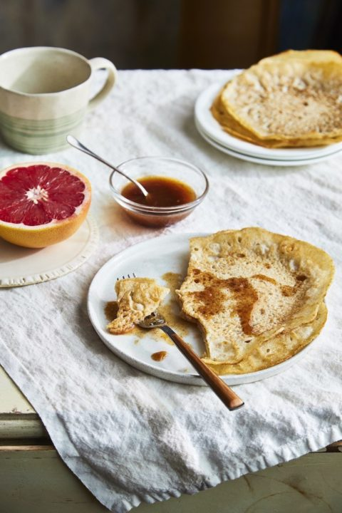 Ayurveda Breakfast Crepes