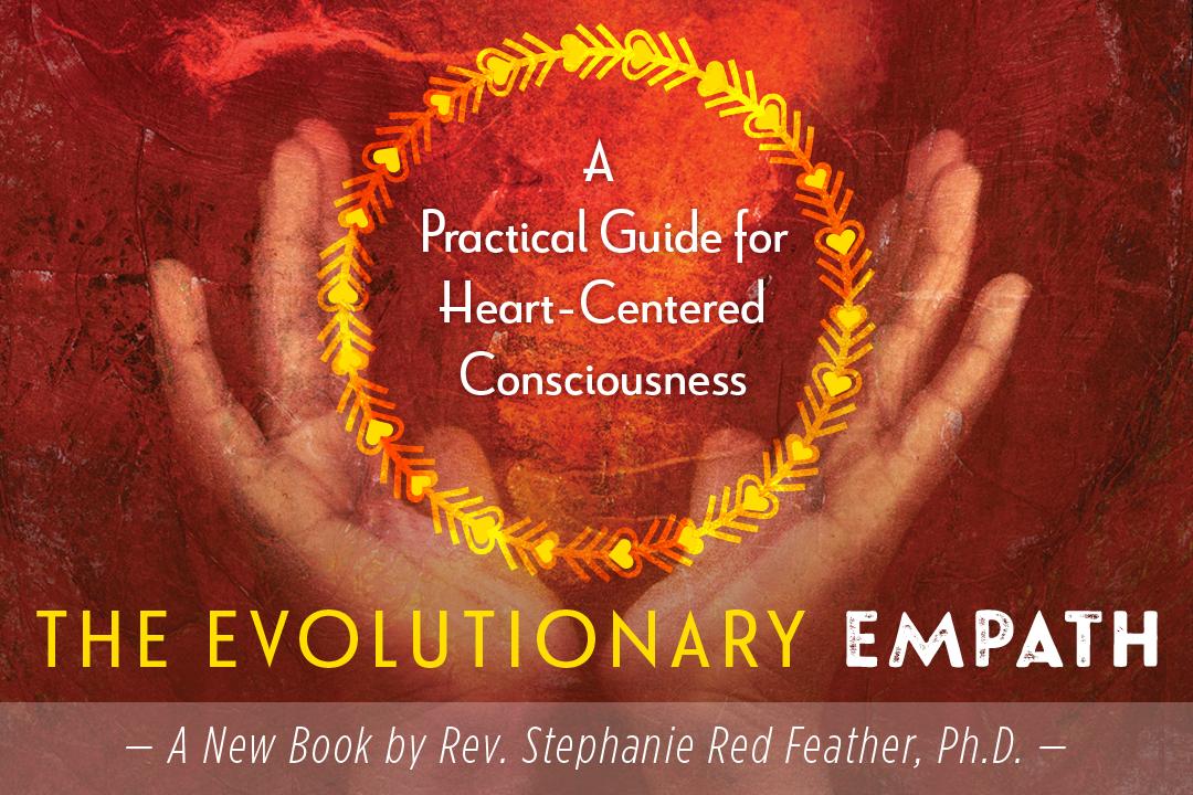 Book cover, The Evolutionary Empath