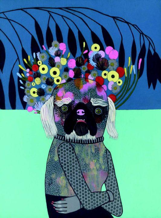 A painting by Jennifer Davis