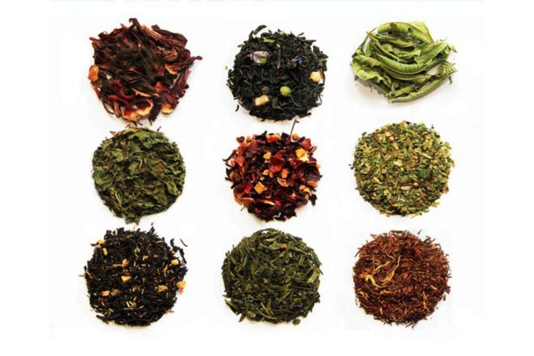Assortment of teas