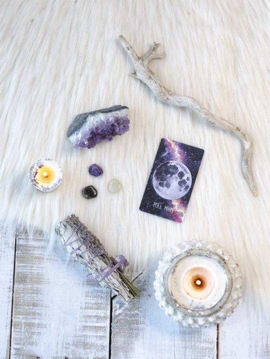 Crystals for the full moon