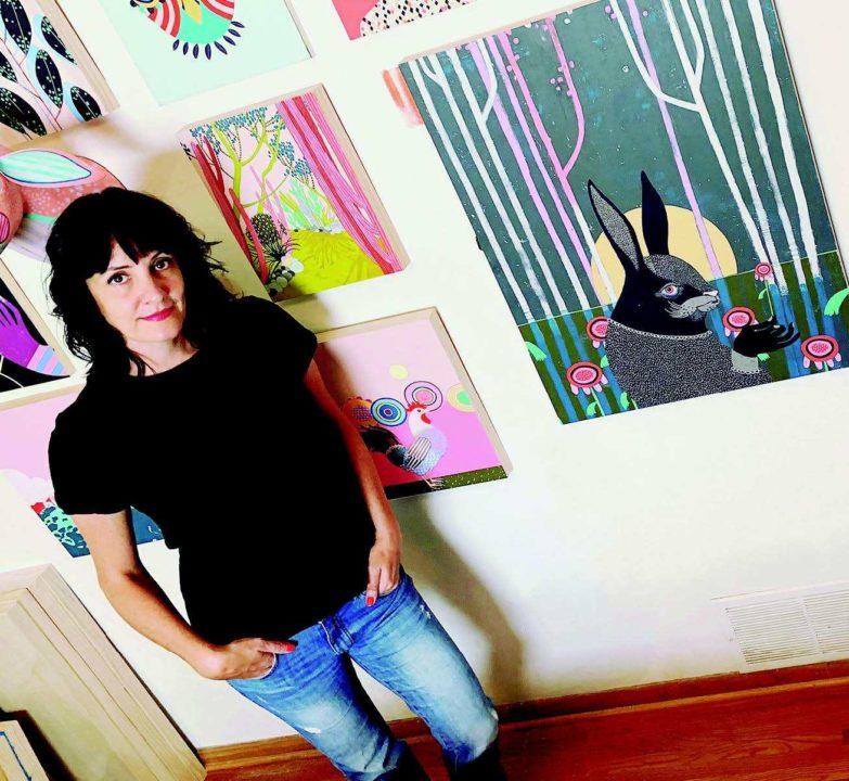 Artist Jennifer Davis