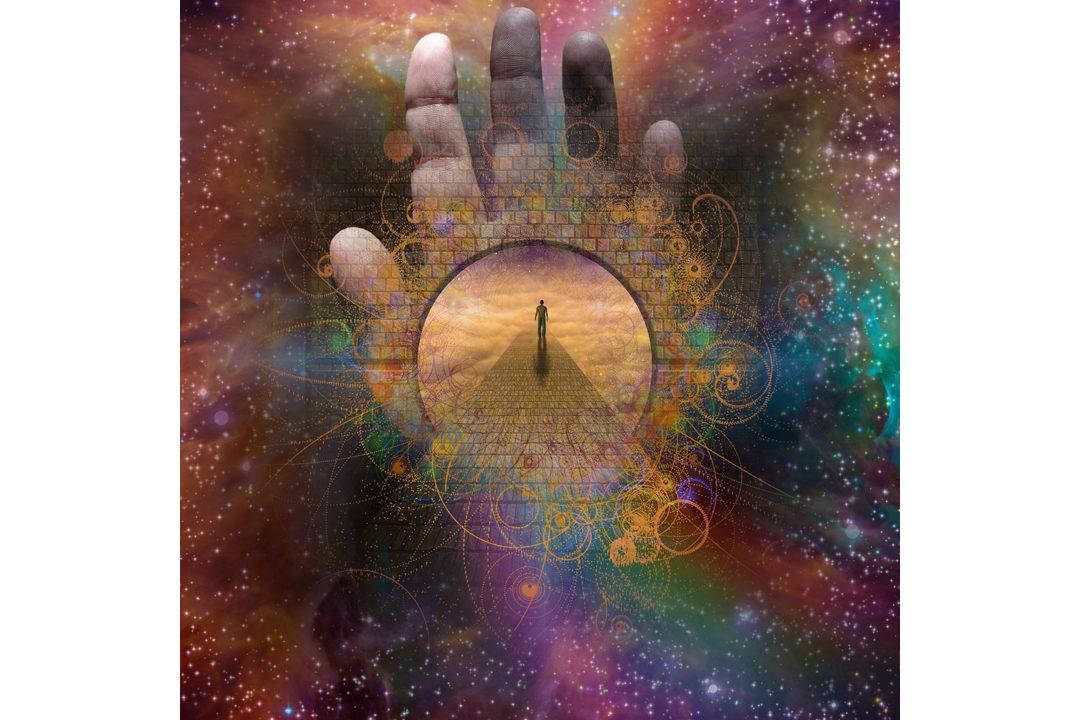 Abstract spiritual image
