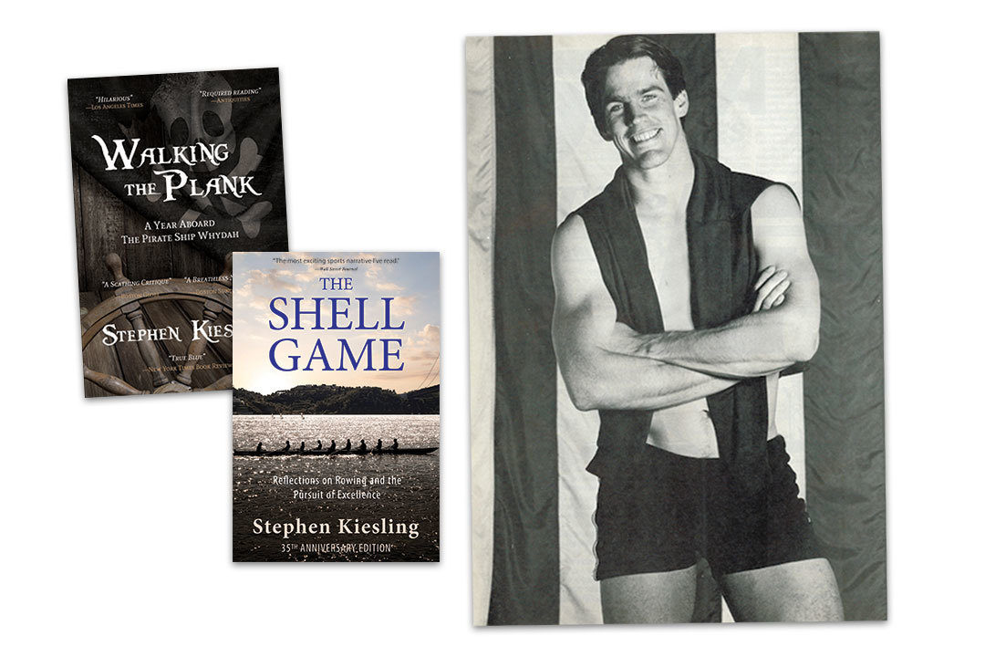 Steve Kiesling and two of his books