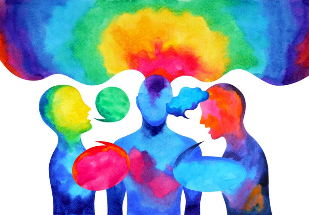 Illustration of an Emotional Conversation