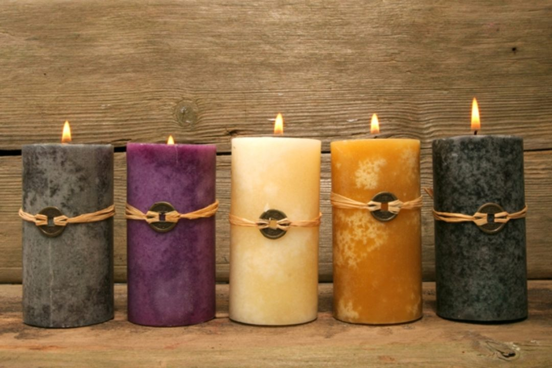 feng shui elements candles