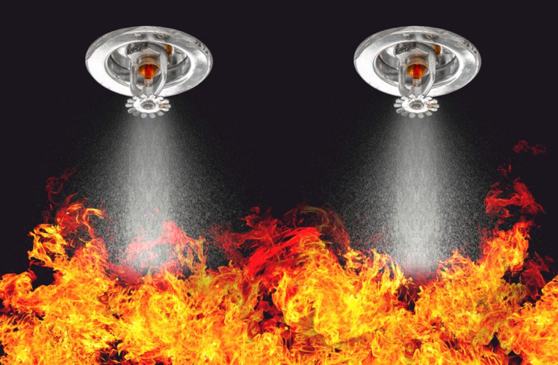 "<img src=""firesprinklers.jpg"" alt=""Fire sprinklers extinguishing fire""/>"