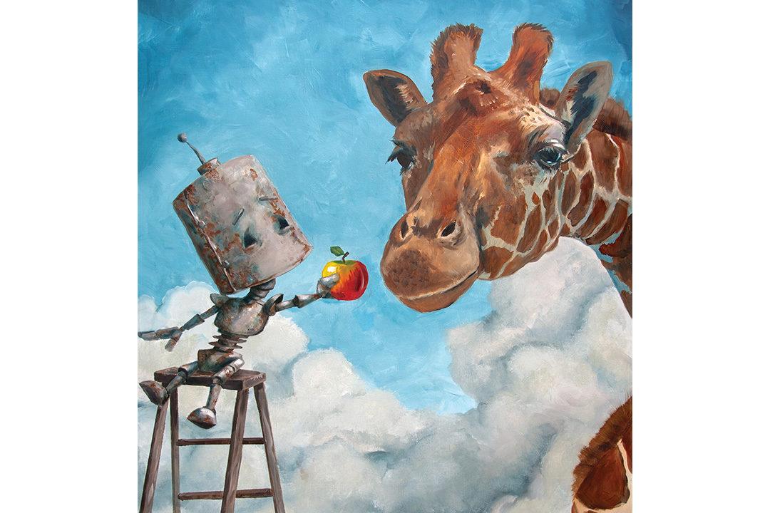 Giraffe Robot by Lauren Briére