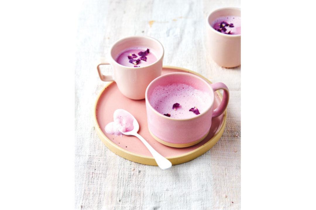 Rose Quartz Latte