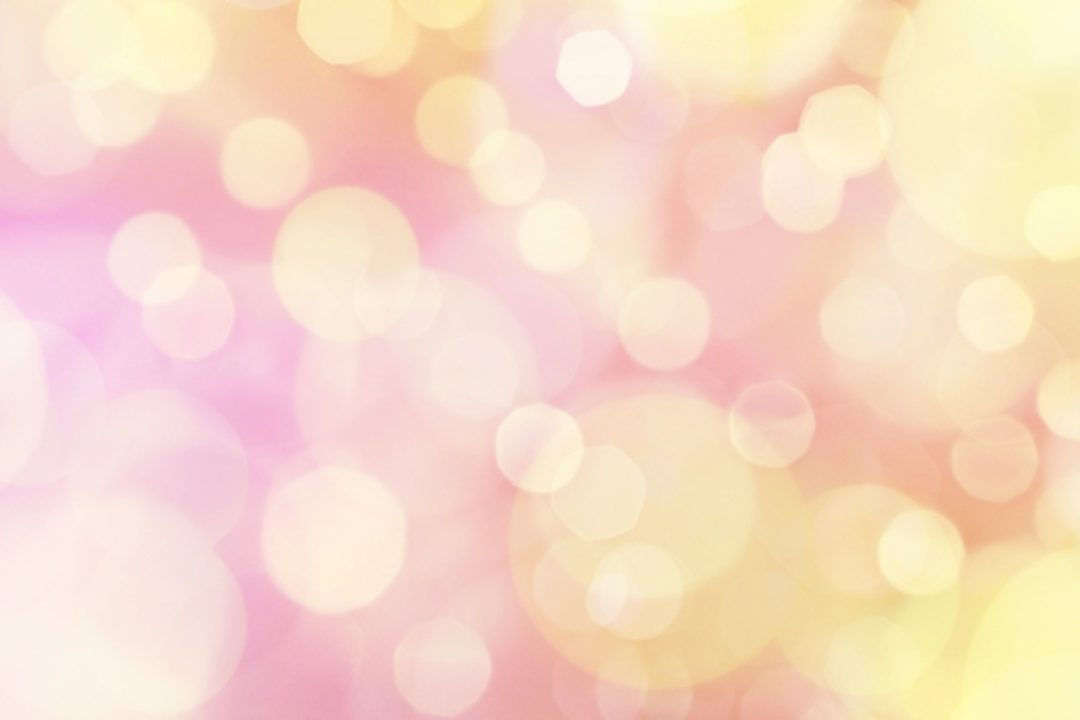 soft pink and yellow light