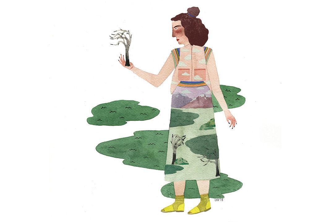 Landscape Lady #3