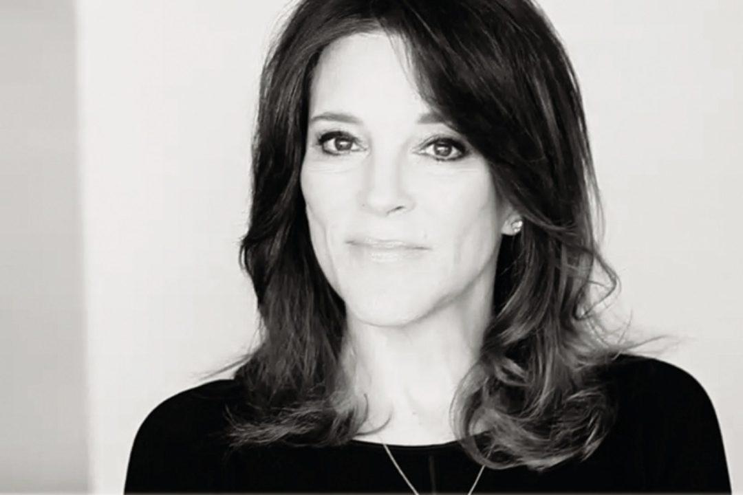 Headshot of Marianne Williamson