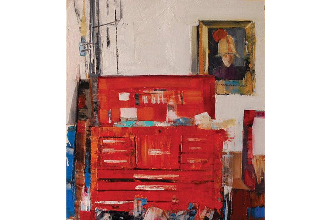 Mechanic's Shop Painting