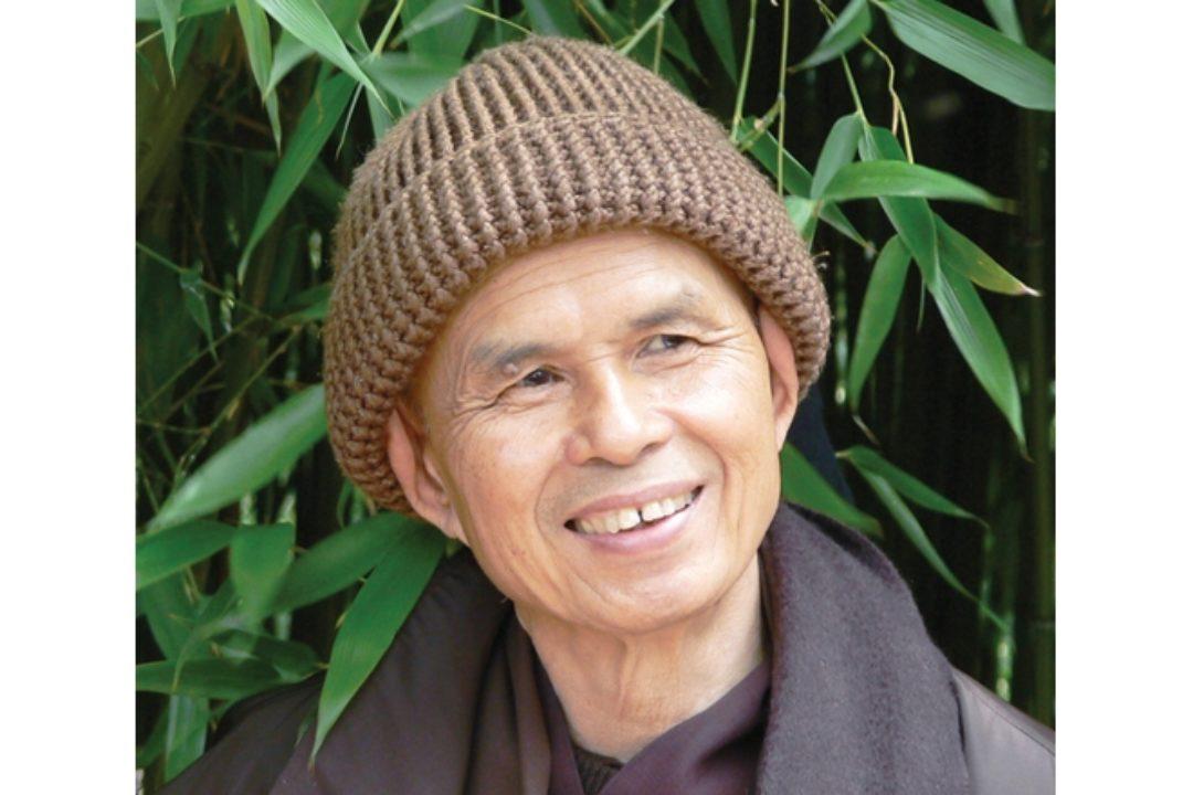 Headshot of Thich Nhat Hanh