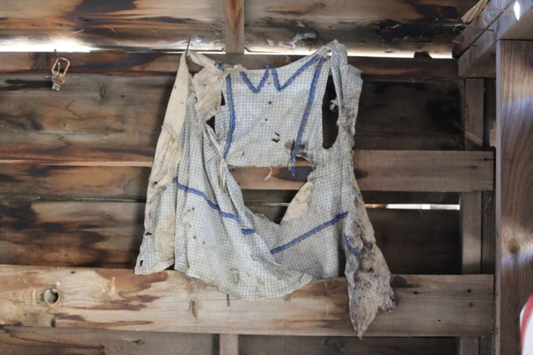 worn out apron