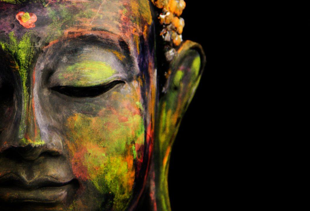 """Buddha statue for """"black & buddhist"""" by lama rod owens"""