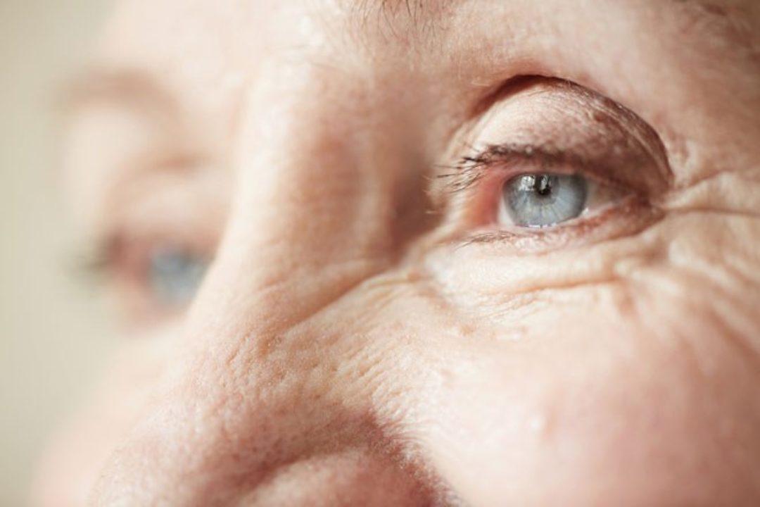 Older woman eyes