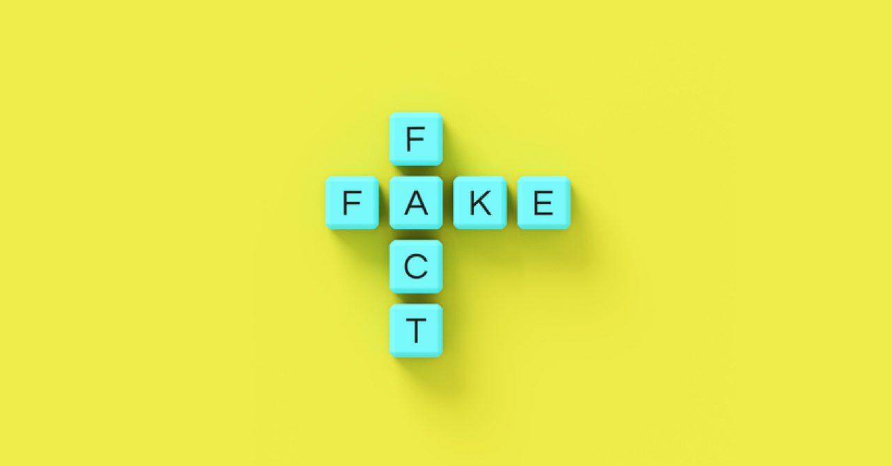 Fact or Fake scrabble tiles health information on social media